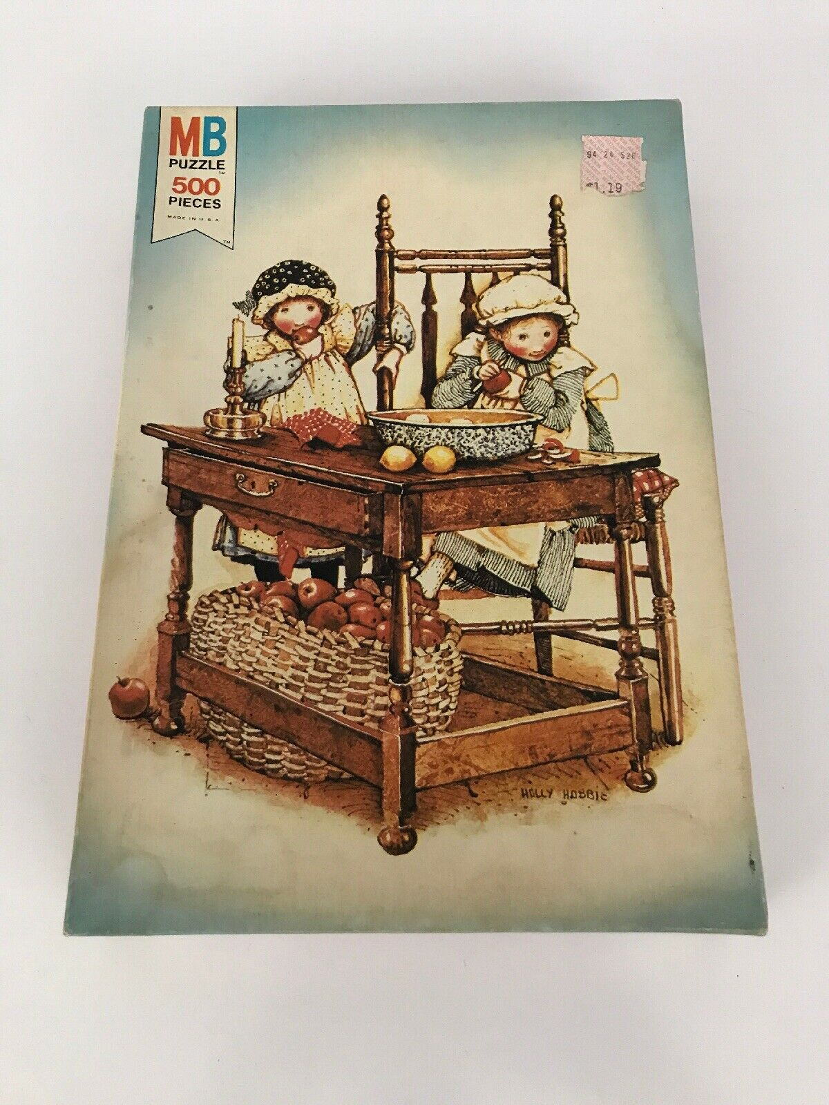 New Sealed Vintage 1975 MB Holly Hobbie Puzzle 4597-3 500 Pieces