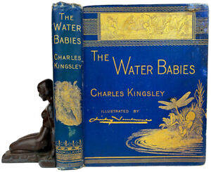 1885 WATER BABIES Fairy Tale FIRST EDITION Chas KINGSLEY Lauer Doll story DISNEY