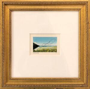 FANNY BRENNAN - Custom Framed 'Beach to Sky' Hand-Signed LE Lithograph