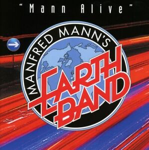 Manfred-039-s-Earth-Band-Homme-Homme-Alive-2cd-2-CD-NEUF