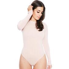13 Colors Sexy Women Long Sleeve Shirt Jumpsuit Bodysuit Stretch Leotard Blouse