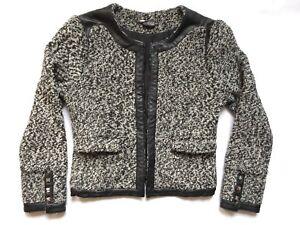 UO-Sparkle-amp-Fade-Monochrome-Shrunk-Boucle-Blazer-Jacket-Work-Career-Business-10