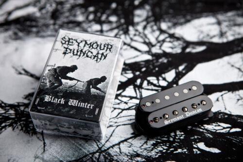 free shipping Seymour Duncan Black Winter Humbucker set