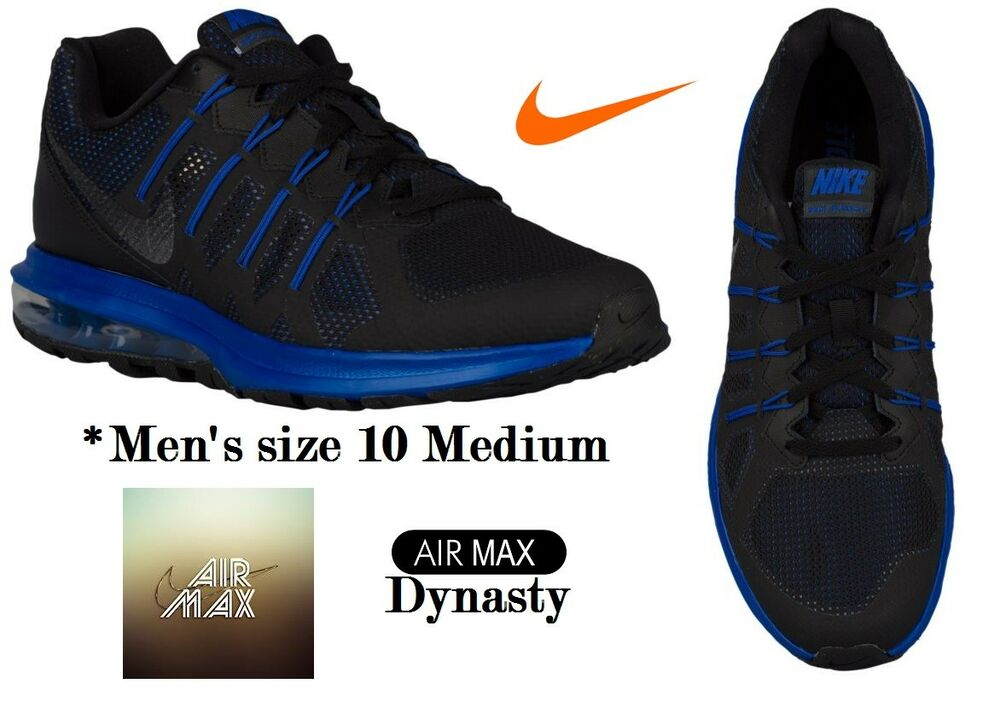 Nike homme Taille 10 Medium Air Max Dynasty in Bleu/noir, NWOB