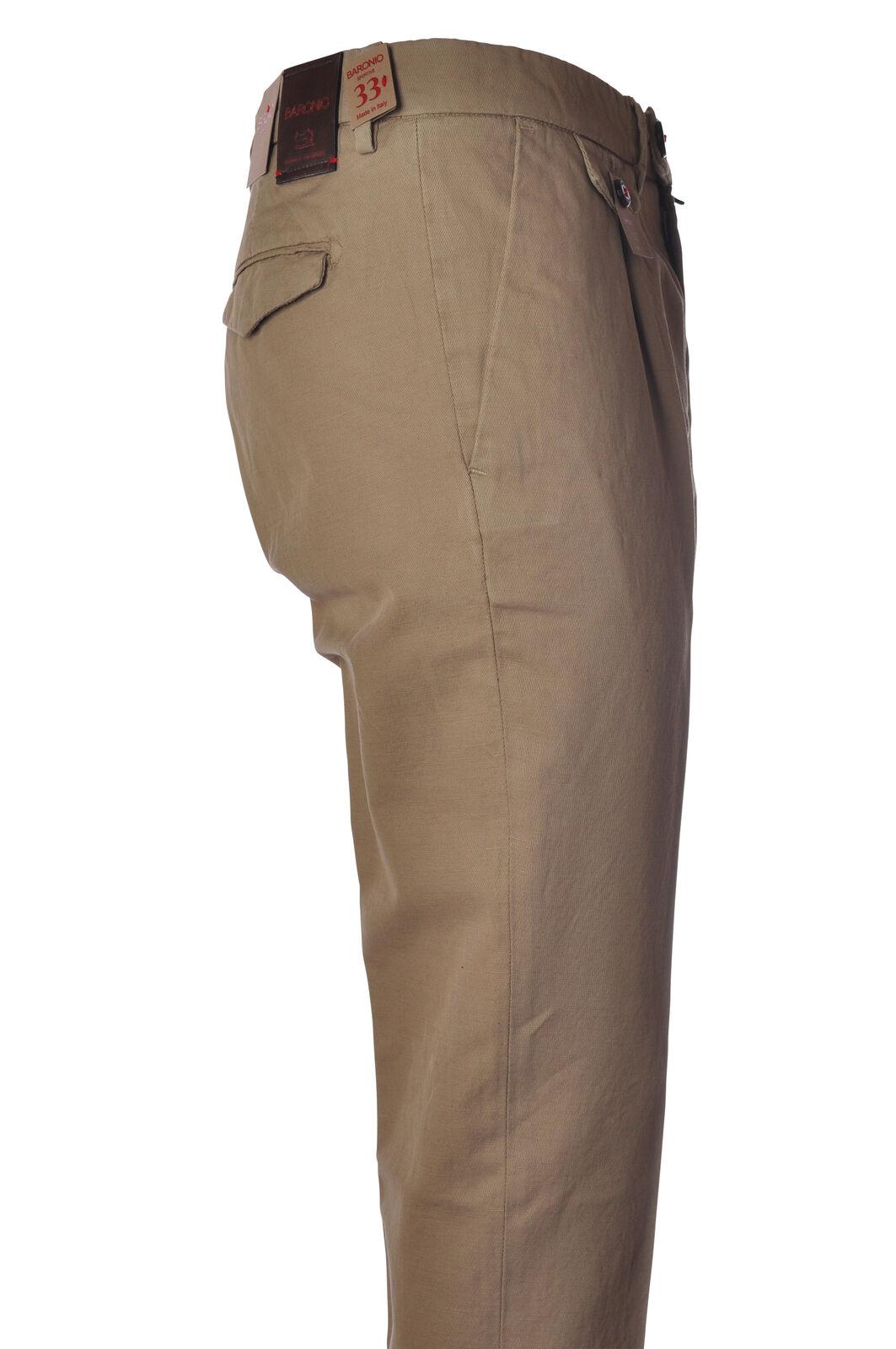 Baronio - Pants-Pants - Man - Beige - 5313920F180810