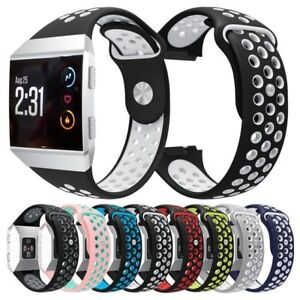 For-Fitbit-Ionic-Strap-Silicone-Sports-Replacement-Band