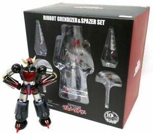 Goldrake-Atlas-Ovni-Robot-Grendizer-amp-Spazer-Set-Riobot-Die-Cast-Modelo-Sentinel