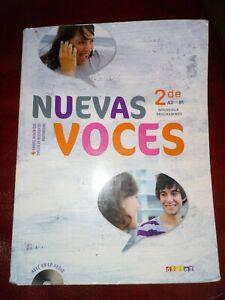 Details Sur Livre Espagnol Seconde Nuevas Voces Vendu Avec Le Cd Editions Didier