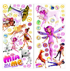 Mia And Me Wall Stickers Girls Kid Decal Art Decor Home