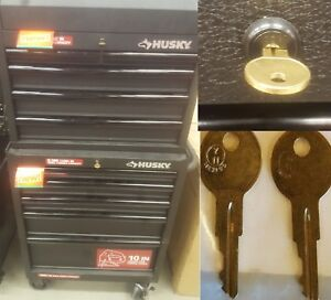 T02 Key 2 New Keys For Husky Tool Box Key Code T02 Home Depot