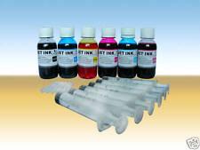 Nanoink@ 6x100ml Refill ink For Epson 48 78 79 98 277 Cartridges syringes