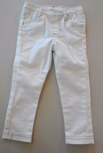 0fade0895 Carter's New White Stretchy Skinny Jeans Jeggings Baby Girl Infant 24 Months