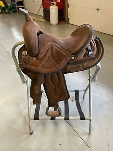 """Big Horn #499 Synthetic Western Saddle 14"""" Youth"""