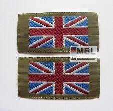 MOD ISSUE UNION JACK SEW ON FLAGS DPM MTP SHIRTS & SMOCKS x2 ARMY RN RAF