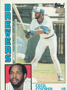Cecil-Cooper-1984-Topps-420-Milwaukee-Brewers-Baseball-Card-exmt