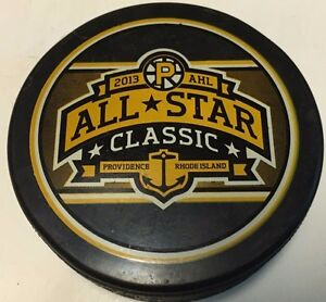 2013 AHL All-Star Game Official Souvenir Hockey Puck Providence Bruins