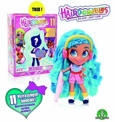 Amable Giochi Preziosi Hairdorables Bambole Stilose Capelli Lucenti E Colorati Serie 2 Agradable Al Paladar