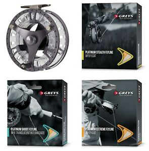Greys-GTS500-Cassette-Fly-Fishing-Reel-with-Choice-Of-Line-Neoprene-Case