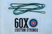 56 12 Strand Green Dacron B50 Longbow Bowstrings By 60x Custom Strings Bow