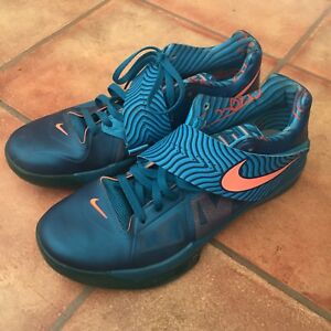 37517d201e7d Nike Zoom Kevin Durant KD IV Year of the Dragon YOTD 2012 UK 12 Blue ...
