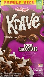 NEW-KELLOGGS-FAMILY-SIZE-KRAVE-DOUBLE-CHOCOLATE-CEREAL-16-7OZ-BOX-MORE-CHOCOLATE