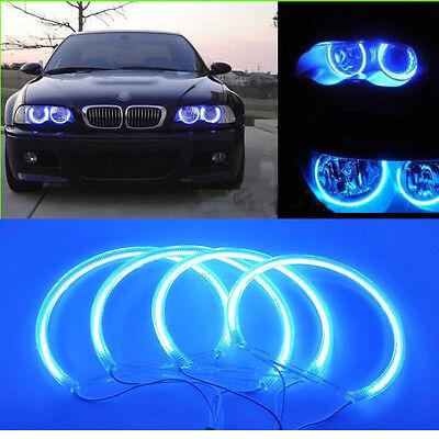 BMW Angel Eye Halo Light CCFL E46 E46 3 Series Super Green Non-Projector 12V