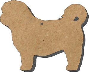 MDF-Shape-Dog-10-Shi-Tzu-MDF-Cutouts-Keyring-5-SIZES-FREE-Hole-DOGW250