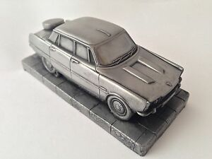 Rover-P6-Pewter-Effect-1-43-Scale-Model-Car-Made-In-Sheffield