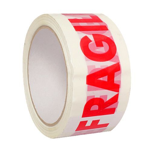 FRAGILE Printed Sealing Packing Parcel Tape Roll 48mm x 66m