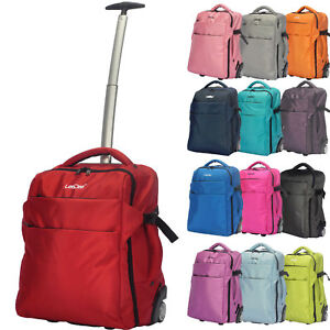 731a9ca98175 3 in 1 Wheeled Cabin Trolley Travel Bag Hand Luggage Backpack ...