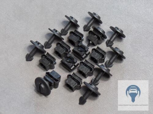 10x dispositivi di protezione posteriori di protezione del motore Passaruota Clip Per Audi a4 a6 PASSAT b5 b6