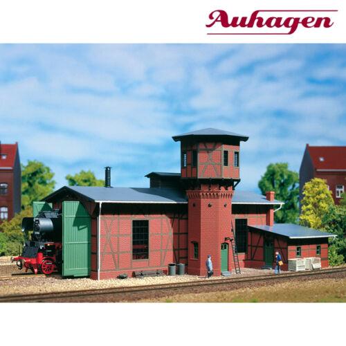 NEU /& OVP Auhagen 11400 H0 Lokschuppen mit Wasserturm +