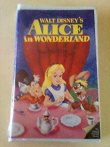 VHS-NEW-WALT-DISNEY-ALICE-IN-WONDERLAND-1991-BLACK-DIAMOND-FACTORY-SEALED