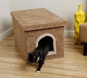 Image Is Loading Litter Box Furniture Hidden Cat Dog Bed Kitty