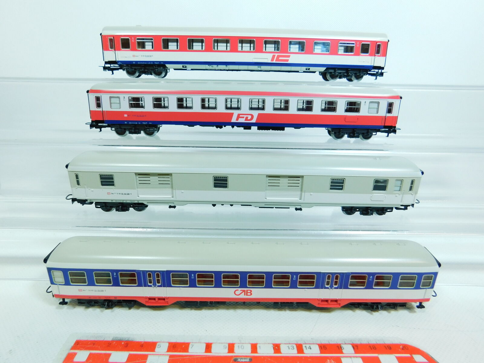 BV545-1  4x Märklin Märklin Märklin H0 AC Personenwagen etc (aus Set 2859) DB, sehr gut  | Online Outlet Shop  4b11a9