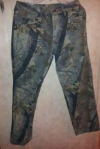 Wrangler Rugged Wear Realtree Camo Pants Jeans 32x30