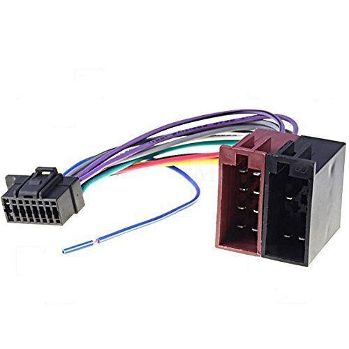 Cable Adaptador Iso Autorradio Sony Cdx-G1200 Cdx-G1201u Cdx-G1202u