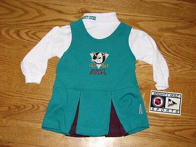 NHL Anaheim Ducks Baby Infant Toddler Girls Dress YOU PICK SIZE *