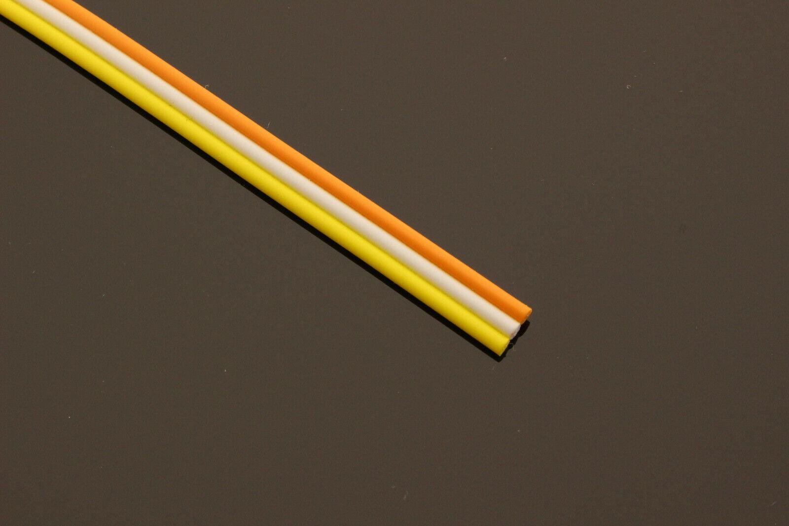 (  m) 100m 3-adrig 3 Adern LED CCT Kabel Anschlusskabel Litze Leitung