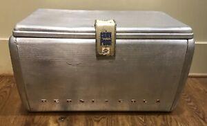 Details about Vintage Original Aluminum PEPSI COLA AIRSTREAM COOLER Ice  Chest Storage 1950's!!