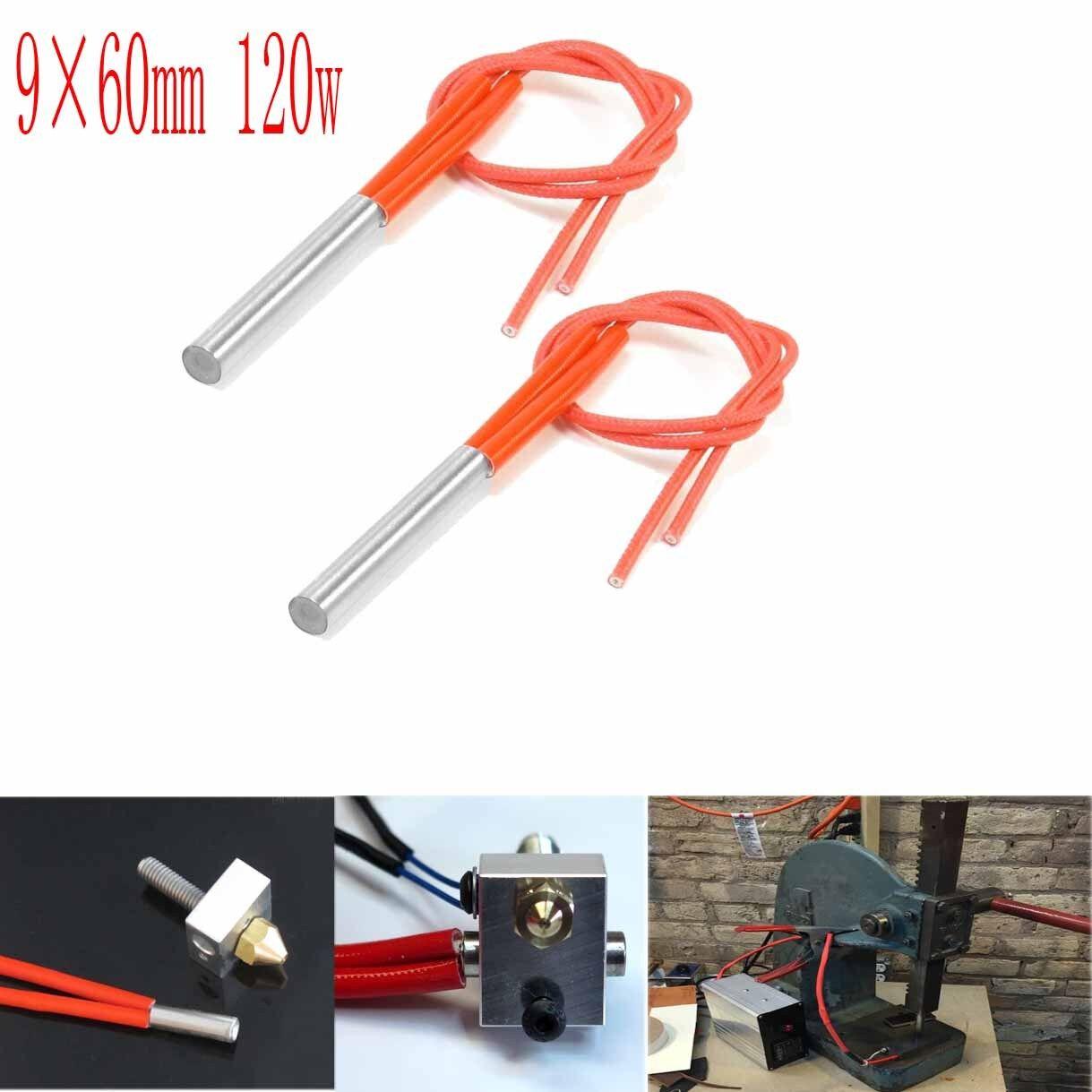 1PCS AC110V 100W Single End Mould Cartridge Heater Tubing Heating Element 8*40mm