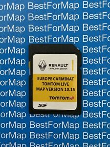 LATEST 2020 SD card RENAULT TomTom Carminat LIVE EUROPE MAP CLIO MEGANE LAGUNA