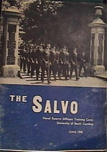 RARE 1945 NAVAL RESERVE OFFICERS TRAINING CORPS YEARBOOK UNIV SOUTH CAROLINA