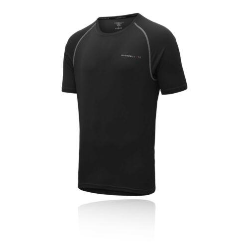 Black Sports Higher State Mens Short Sleeve Running T Shirt Tee Top 2.0