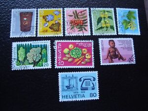 Switzerland-Stamp-Yvert-and-Tellier-N-994-A-1002-Obl-A2-F