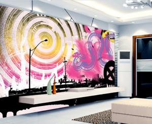 3D Graffiti Theme 742 Wall Paper Murals Wall Print Wall Wallpaper Mural AU Kyra