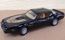 Black Trans AM Pontiac Firebird 1979 Road Signature 1:18 diecast model 92378