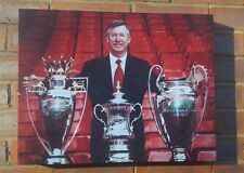 Sir Alex Ferguson - Manchester United  - Wall Canvas
