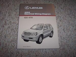 2004 Lexus GX470 GX 470 Factory Electrical Wiring Diagram ...