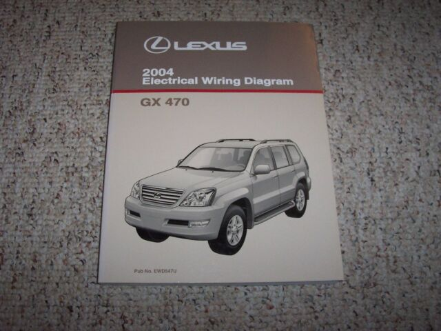 2006 Lexus Gx470 Gx 470 Factory Oem Owner Operator User